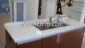 Crystallized Glass Countertop