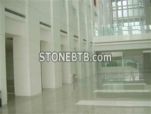 Pure White Nano Glass Artificial Stone