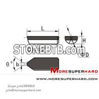 PCD Boring Cutter for carbide Roller,PCD Roller Inserts,PCD Boring Tool