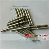 Electroplated Diamond mounted points for carbide