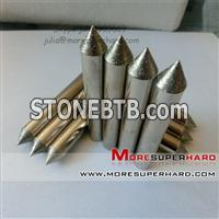 Electroplated diamond grinding head
