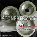 6A2 Vitrified diamond grinding wheel for pcd tool grinding
