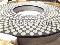 Double Disc Grinding (DDG) wheel, Top and Bottom Grinding wheels