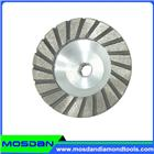 Turbo Segment Aluminum Base Grinding Cup Wheel