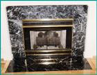 China Black fireplace