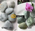 Green Tumbled Pebble Stone