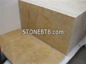 sunny yellow marble tile