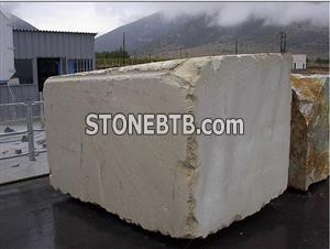 Pure white marble blocks from Vietnam