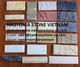 Chiselled Marble Wall Tile, may colours and size, from Nastoma Stone Vietnam