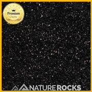 Black Galaxy Granite Satin Finish