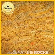 Golden Fantasy Granite Satin Finish