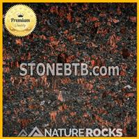 Tan Brown Granite Honed Finish