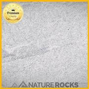 Viscon White Granite Flamed Brushed