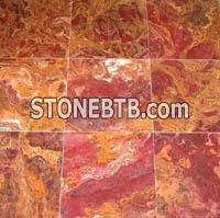 Multi Red&Yellow Onyx