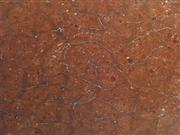 Date Red marble slab