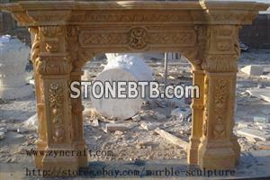 Marble Fireplace Surround 03
