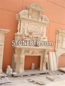 Henan yellow fireplace