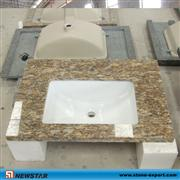 granite banjo vanity, single bowl granite vanity, granite banjo bathroom vanity , granite bathroom vanity, granite vanity top prefab