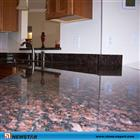 Kitchen Countertops, Black galaxy granite kitchen countertop, coffee brown granite kitchen countertop, epoxy resin kitchen countertop