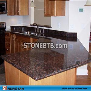 Kitchen Countertops, Black galaxy granite kitchen countertop ...