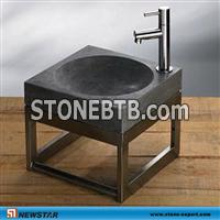 natural stone outdoor sink