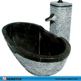 river stone sink, stone pedestal sink, natural stone outdoor sink , granite composite kitchen sinks, natural stone sink, cheap stone sinks