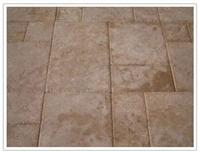 China travertine stone tile