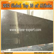 Black laminate countertop