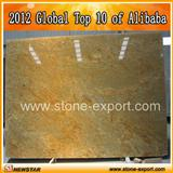 kashmir gold granite slab for counter tops