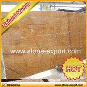 yellow marble slabs
