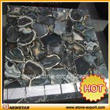 agated stone slabs