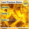 yellow semi precious stone