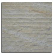 Yellow Line Chiseled Marble