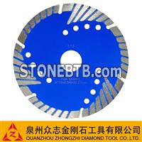 Sintered Segmented Bevel Turbo Blades