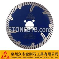 Sintered High-middle-low Segmented Turbo Blade