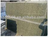 yellow granite slab