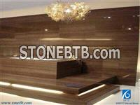 Obama Wood, Obama Wood Vein Slabs & Tiles,Brown Marble Tiles & Slabs