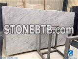 Carrara White Marble Slabs, Polished Marble Slabs, Italy White Marble
