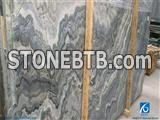 Australia Grey Wave Slabs & Tiles,Australia Grey Wave Marble Slabs,China Australian Grey Marble