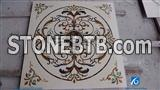 Stone Medallion Indoor Marble Medallion Tile, Waterjet Medallion,Waterjet Pattern Marble Medallion