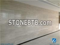 White Wood Grain Cut Marble Slabs & Tiles,China White Wooden Marble Walling Tiles,China White Marble