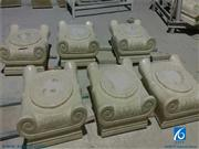 Column Base, Chinese Light Green Column,Green Marble Columns & Pedestals