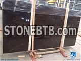 Coffee Mousse Marble Slabs,China Brown Marble