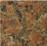 Maple Leaves Red Granite Slab