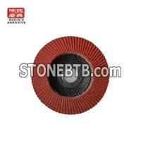 125mm Calcined Aluminium Oxide Flap Disc For Steel And Stainless Steel Polishing