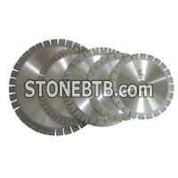 Blade and Segment for Cutting Stone Edge and Small Size Block