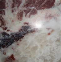 Red jade marble tile