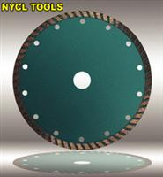 sintered diamond saw blade with turbo saw