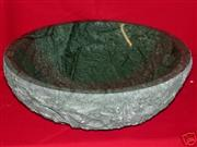 Emerald Green marble vessel  sink