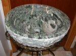 Lotus granite vessel sinks